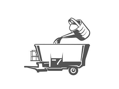 Picto-voermengwagen