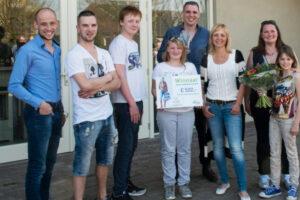 Tom Vullers wint Agroscoopbokaal
